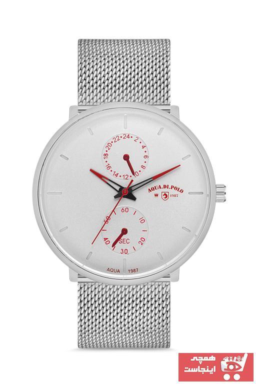 خرید ساعت شیک مردانهاورجینال برند Aqua Di Polo 1987 رنگ نقره کد ty47984999