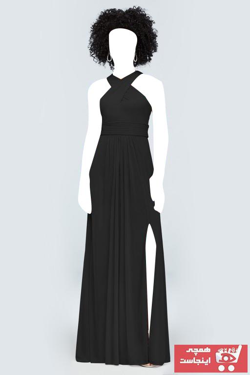 خرید انلاین لباس مجلسی زنانه خاص برند Oleg Cassini رنگ مشکی کد ty48095999