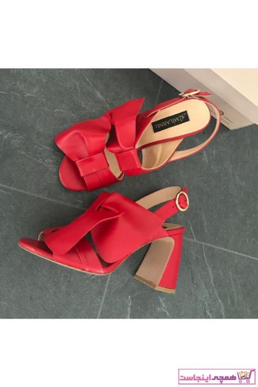 پاشنه دار زنانه قیمت برند MİLARNU رنگ قرمز ty48157606