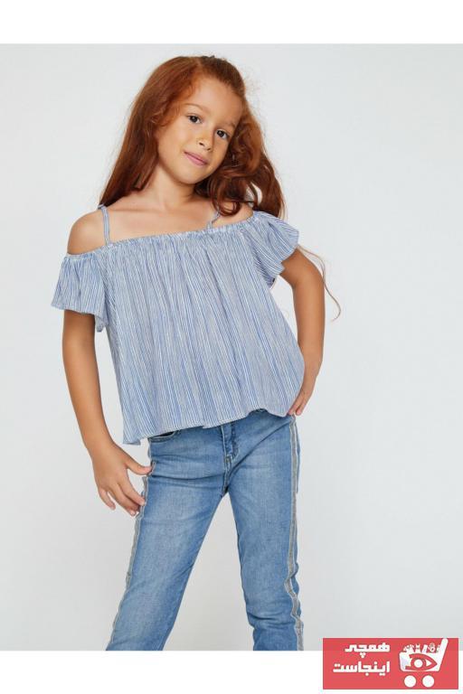 بلوز نخی برند Koton Kids رنگ آبی کد ty4824180