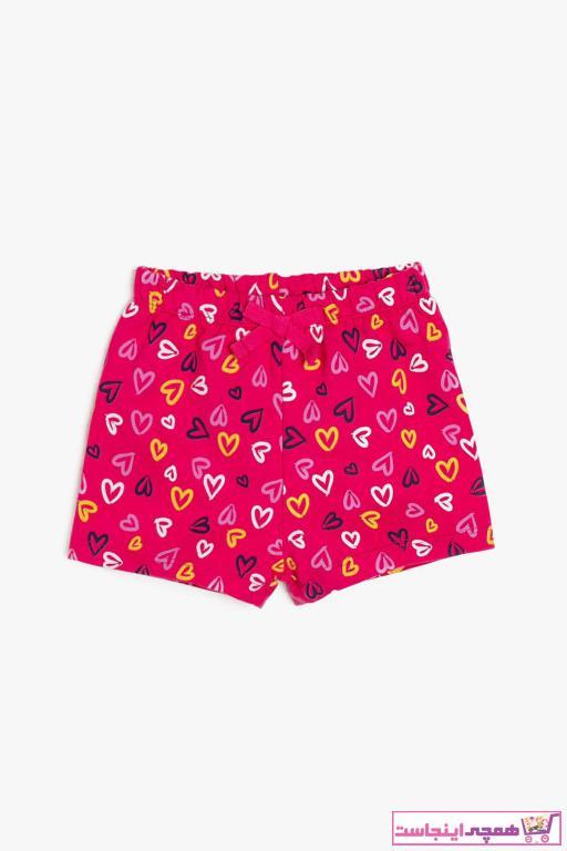 شلوارک نوزاد دختر با قیمت برند Koton Kids رنگ صورتی ty4824573