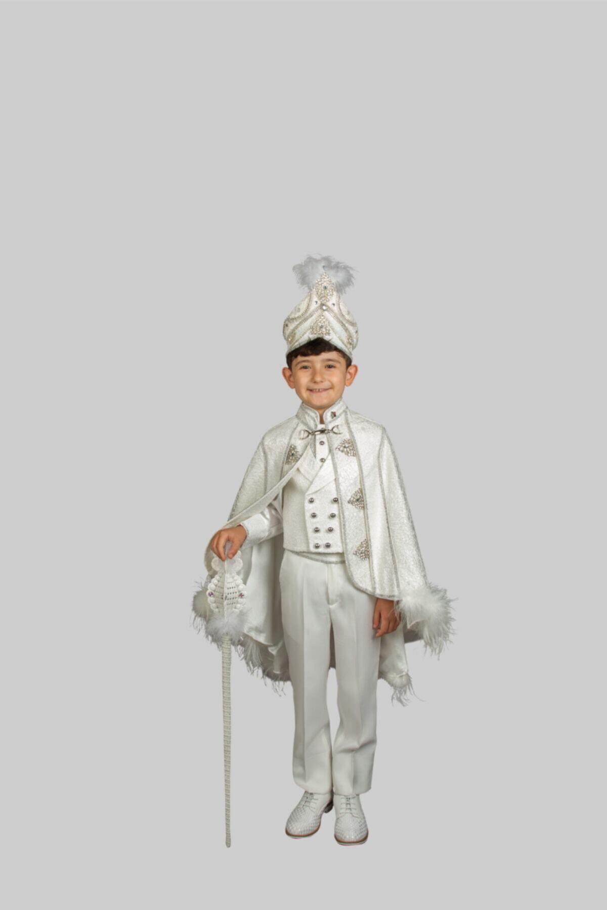 لباس خاص پسرانه اسپرت برند Sinan çocuk رنگ بژ کد ty48490346