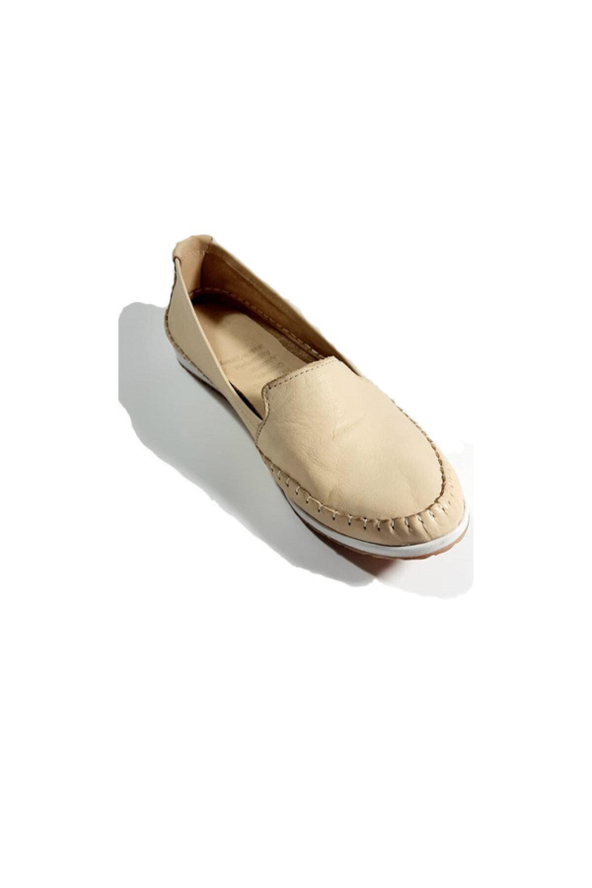 کفش تخت زنانه برند KAPAR رنگ بژ کد ty48597050
