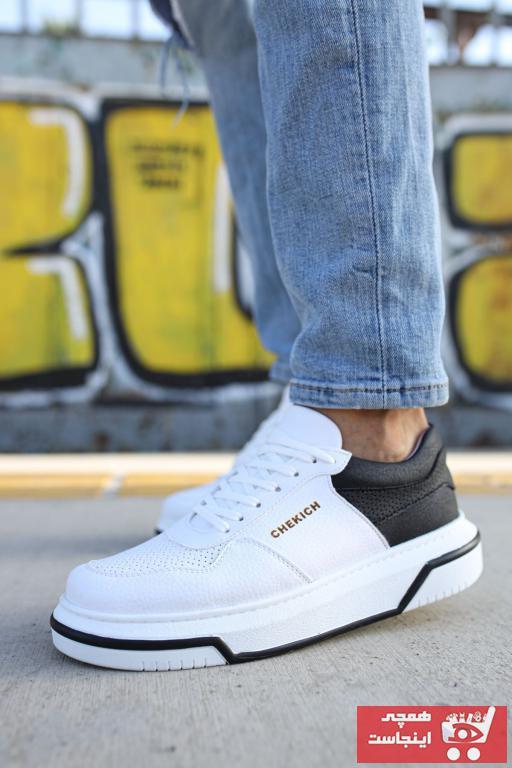 خرید کفش اسپرت خفن برن Chekich رنگ لاجوردی کد ty48778661