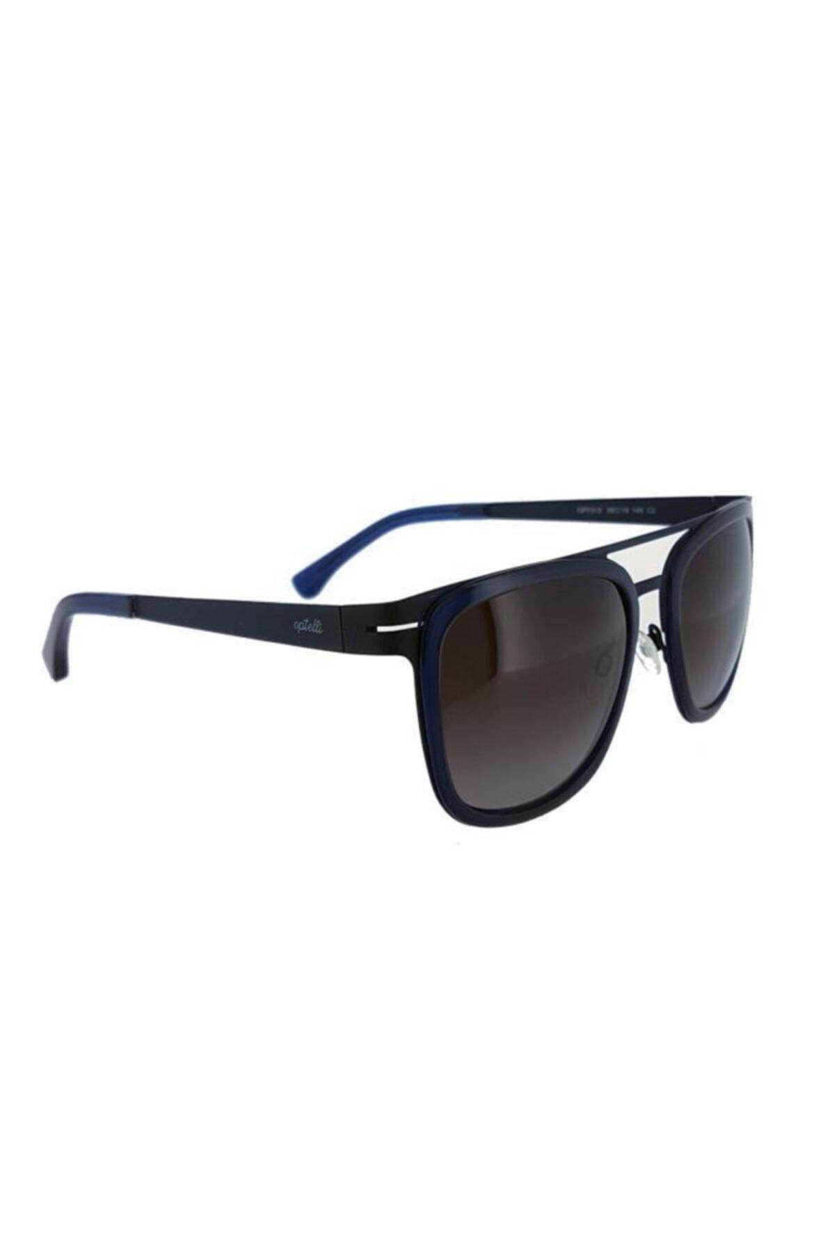 عینک آفتابی مردانه اسپرت جدید برند Optelli رنگ مشکی کد ty4947245
