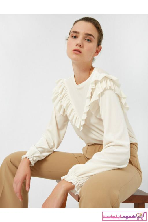 فروش تیشرت زنانه حراجی برند کوتون کد ty49576264