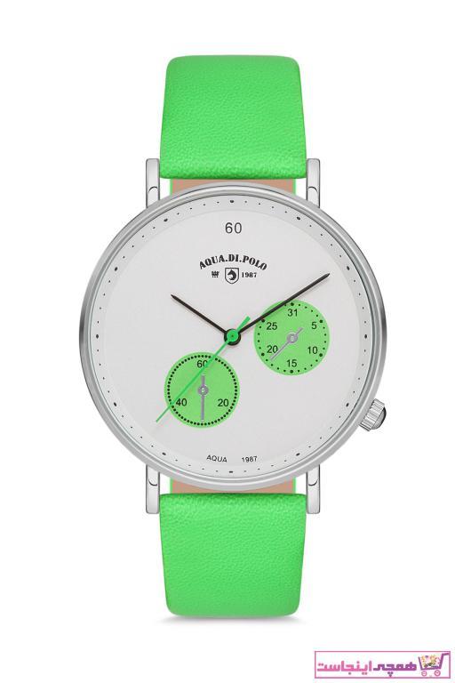 خرید ساعت زنانه 2021 مارک Aqua Di Polo 1987 رنگ سبز کد ty50028104