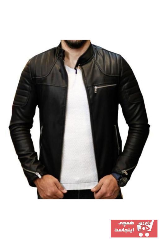 فروش کاپشن چرم مردانه برند Penguen Brand رنگ مشکی کد ty50073584