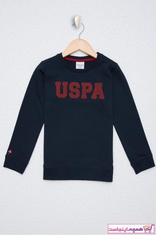 سویشرت مدل 2021 برند U.S. Polo Assn. رنگ لاجوردی کد ty50347482