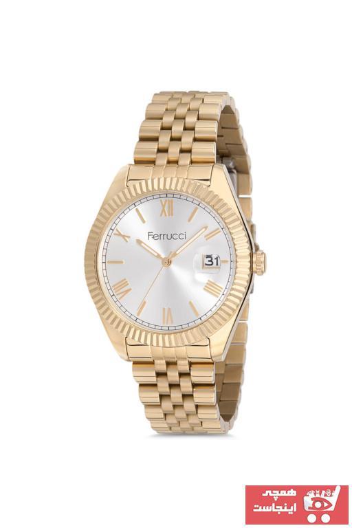 خرید ساعت مچی مردانه اصل برند Ferrucci رنگ نقره ای کد ty50629500