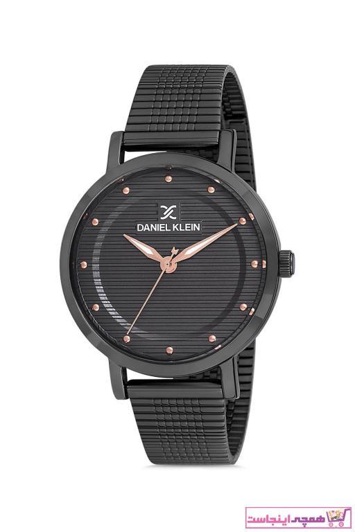 خرید انلاین ساعت مچی زنانه  برند Daniel Klein رنگ مشکی کد ty50629630