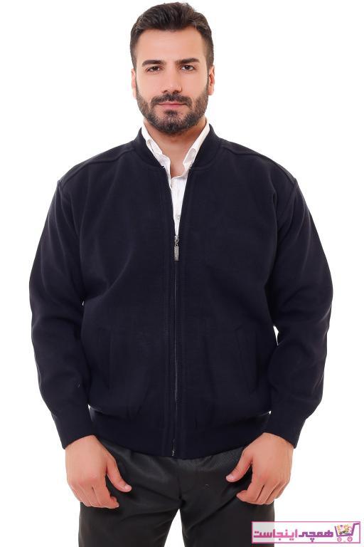 خرید اسان ژاکت بافتی مردانه پیاده روی جدید برند KARBEY TRİKO رنگ لاجوردی کد ty50773023