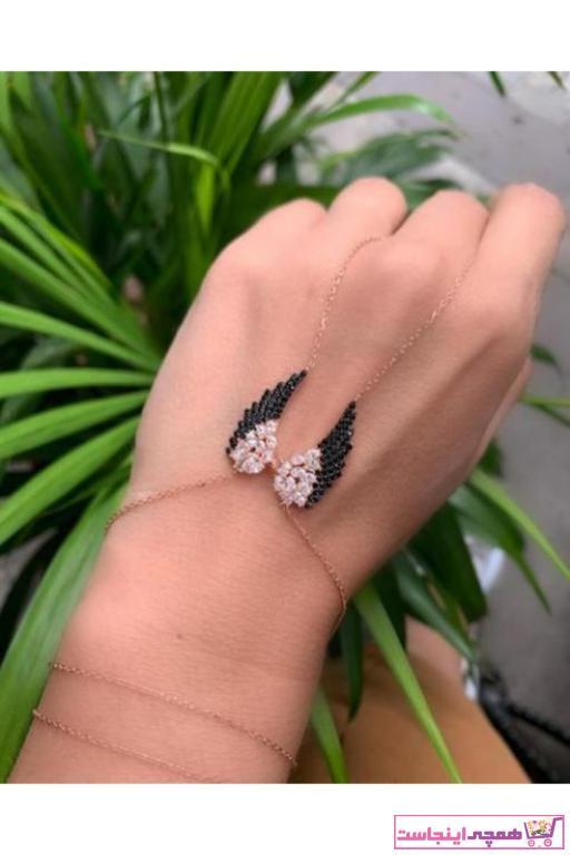خرید نقدی دستبند انگشتی زنانه برند Shaman İstanbul رنگ صورتی ty50780845