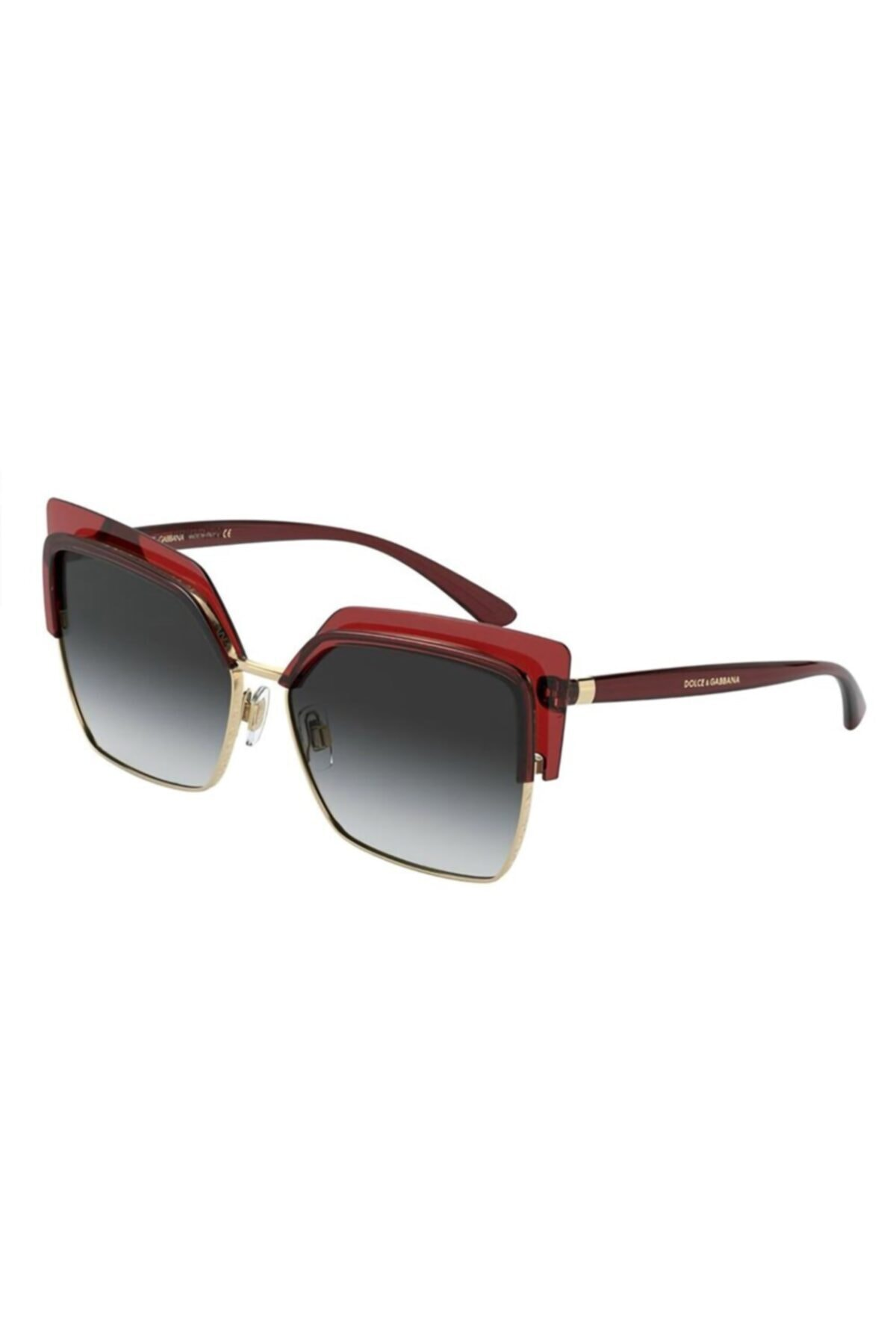 عینک آفتابی زنانه شیک جدید برند دولچه گابانا رنگ قرمز ty50878835