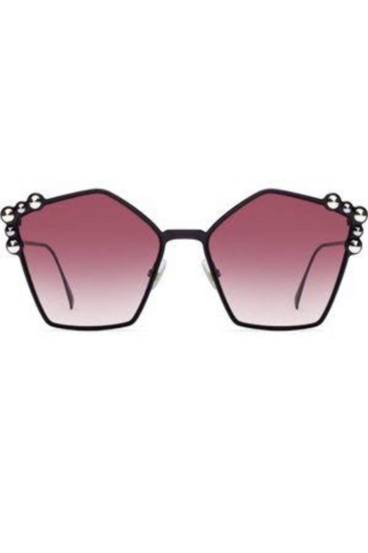 عینک آفتابی زنانه ساده برند Fendi رنگ صورتی ty51040769