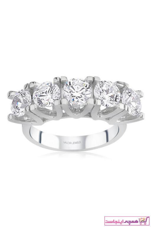 سفارش انگشتر زنانه ارزان برند Valori Jewels رنگ نقره کد ty51122862