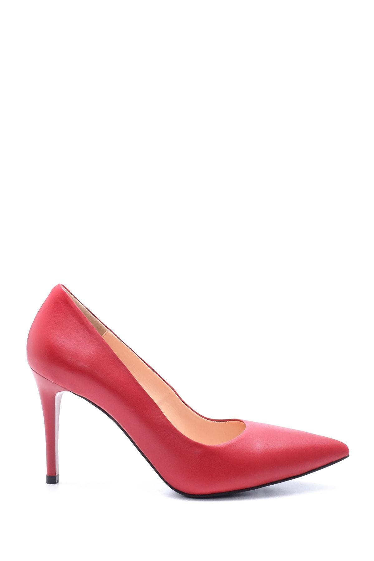 پاشنه دار زنانه مدل دار برند Derimod رنگ قرمز ty51468368