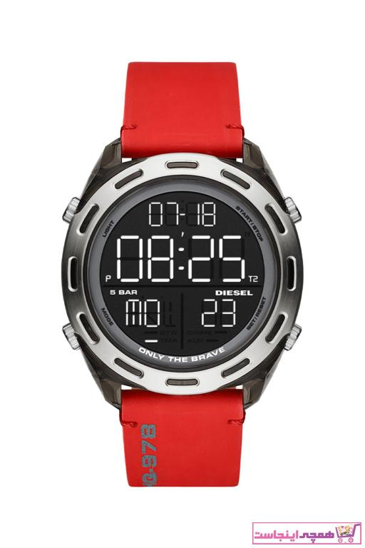 خرید ساعت مردانه  اصل برند دیزل رنگ قرمز ty52292479