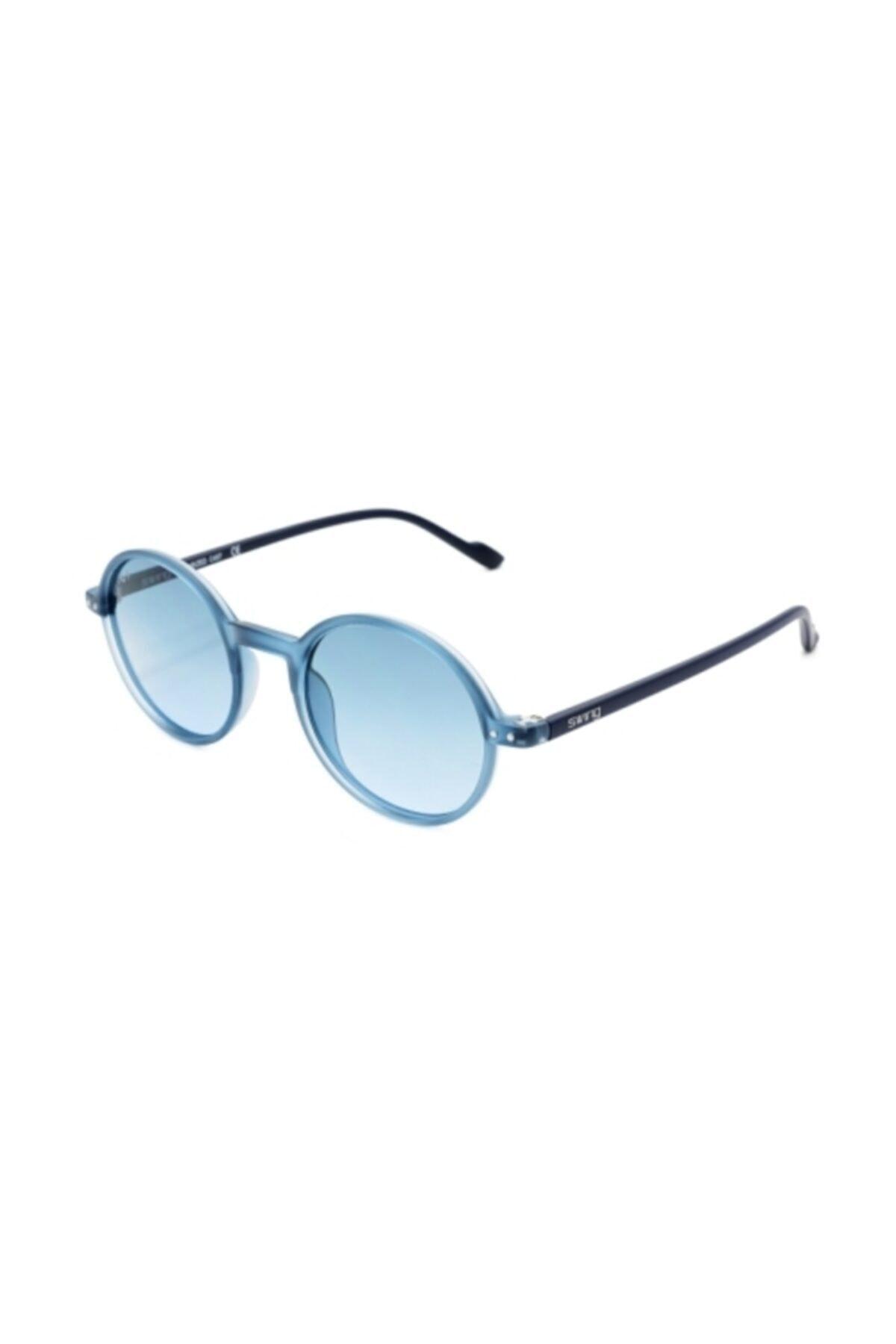 خرید اینترنتی عینک دودی خاص مردانه برند Swing رنگ آبی کد ty52502951