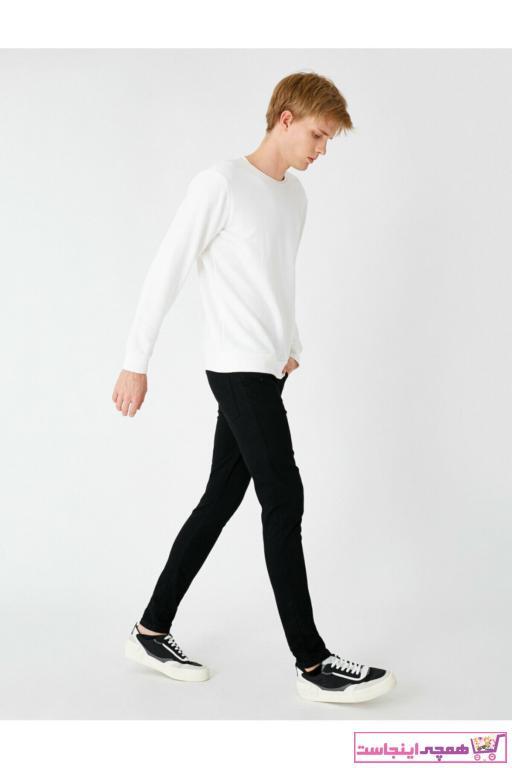 شلوار جین مردانه ترک برند کوتون رنگ مشکی کد ty52938301