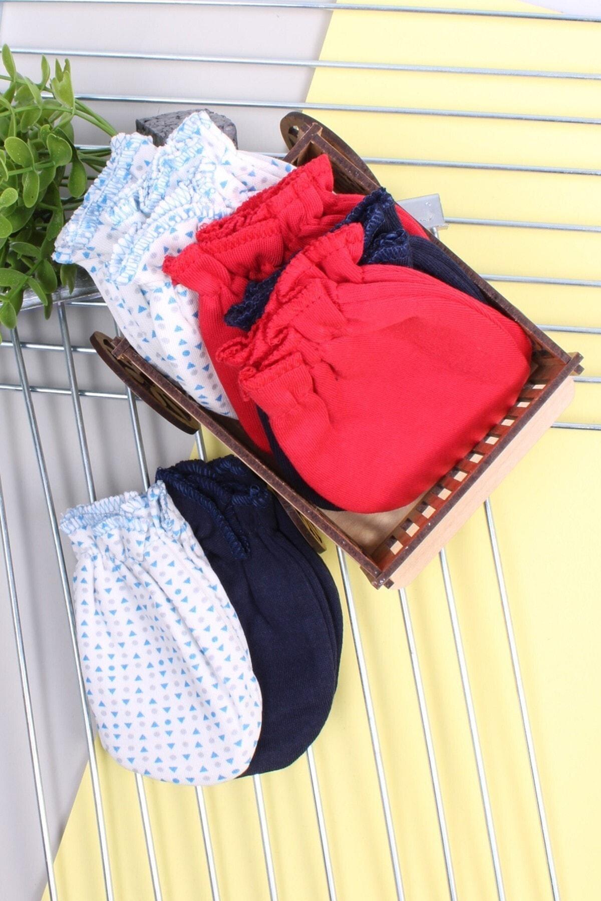 دستکش نوزاد ترک مجلسی برند Babydonat رنگ نارنجی کد ty52954361
