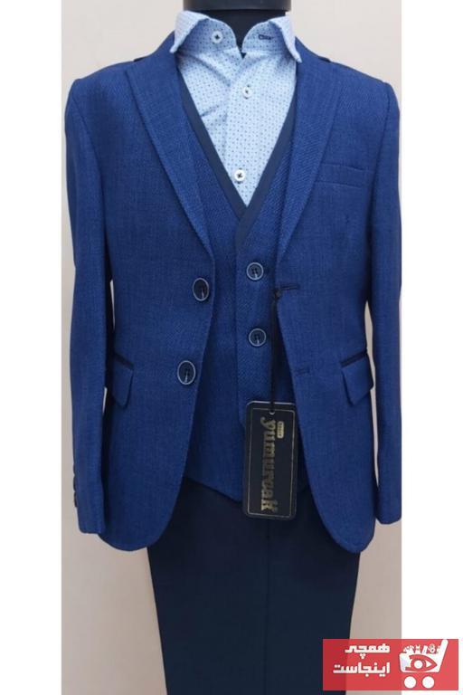 لباس مجلسی خاص برند Yumurcak رنگ لاجوردی کد ty53707322