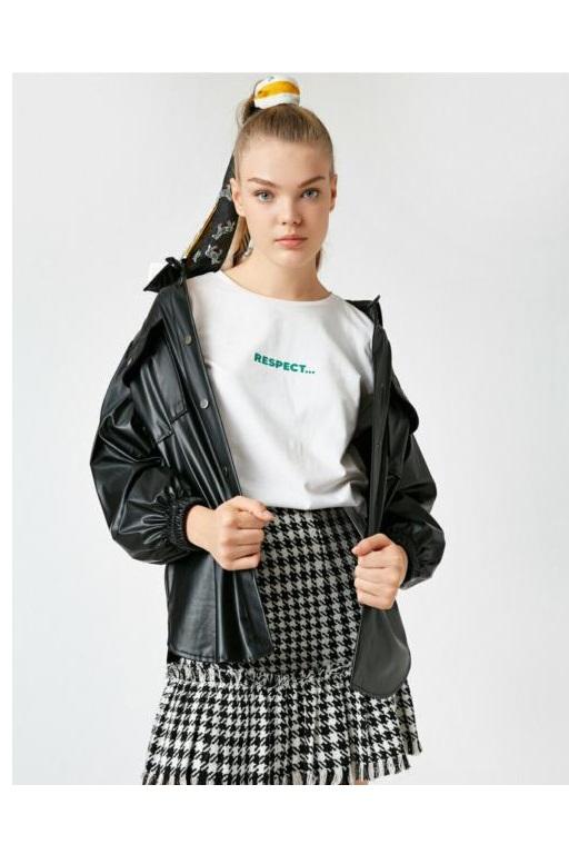 فروش پستی تیشرت زنانه شیک جدید برند کوتون کد ty53759315