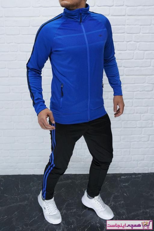 خرید ست اسلش و گرمکن 2020 مردانه برند DYNAMO رنگ لاجوردی کد ty54087820