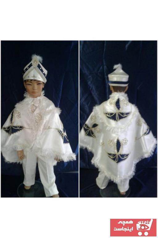 ژورنال لباس خاص پسرانه برند yuşa sünnet sarayı رنگ بژ کد ty54281369