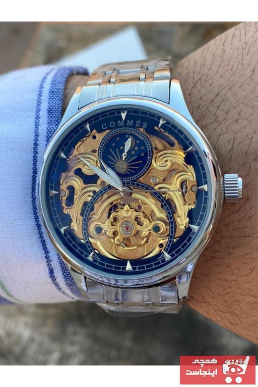 خرید انلاین ساعت مردانه 2021 برند COMMES رنگ نقره ای کد ty54493017