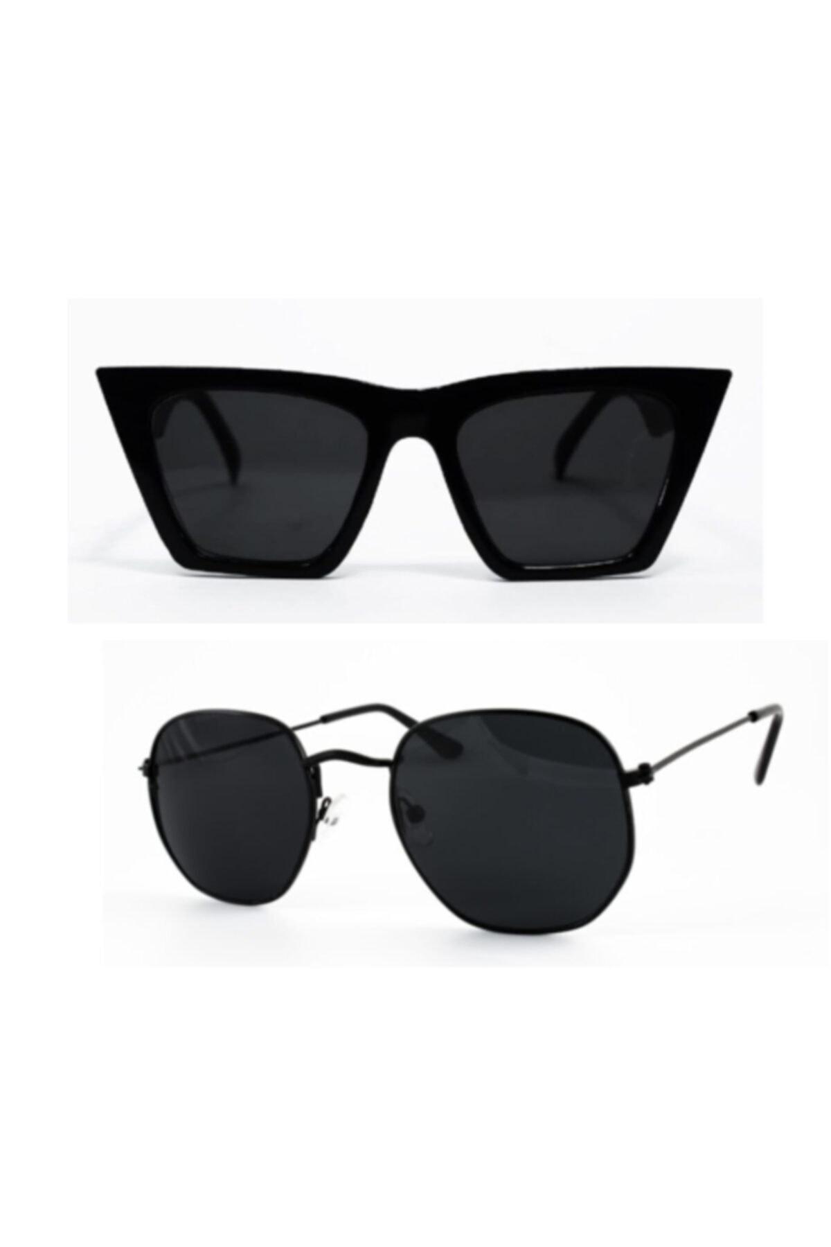 فروش عینک آفتابی زنانه 2020 برند modaisleri رنگ مشکی کد ty54691613