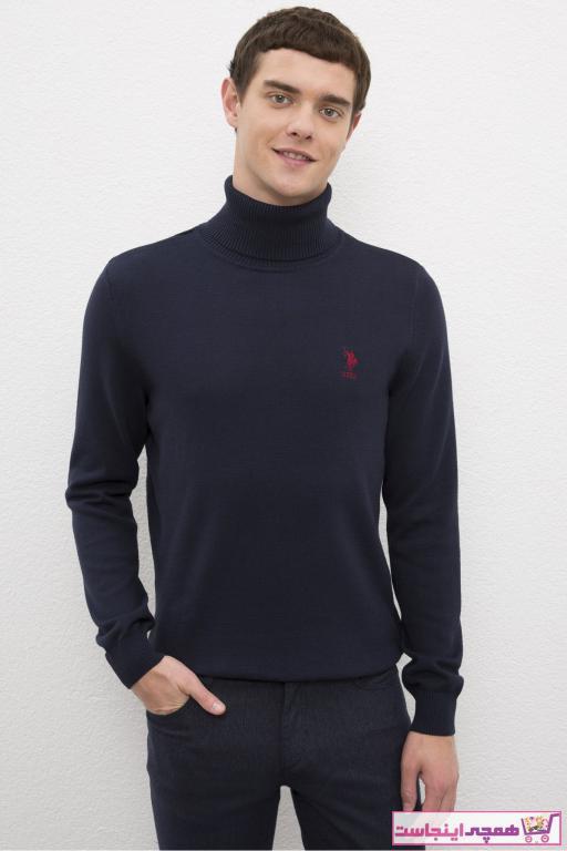 پلیور بافتی مردانه اسپرت مارک U.S. Polo Assn.برند US Polo رنگ لاجوردی کد ty54704448