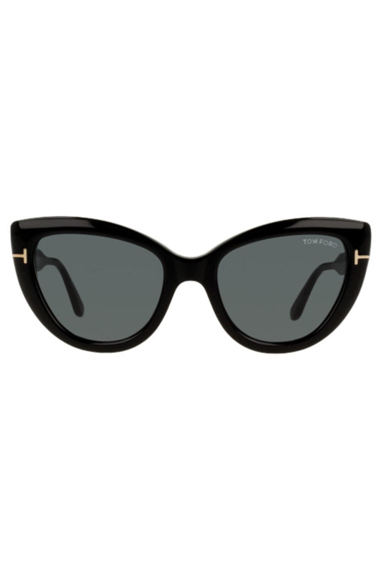 فروش عینک آفتابی زنانه شیک و جدید برند Tom Ford رنگ مشکی کد ty54733847