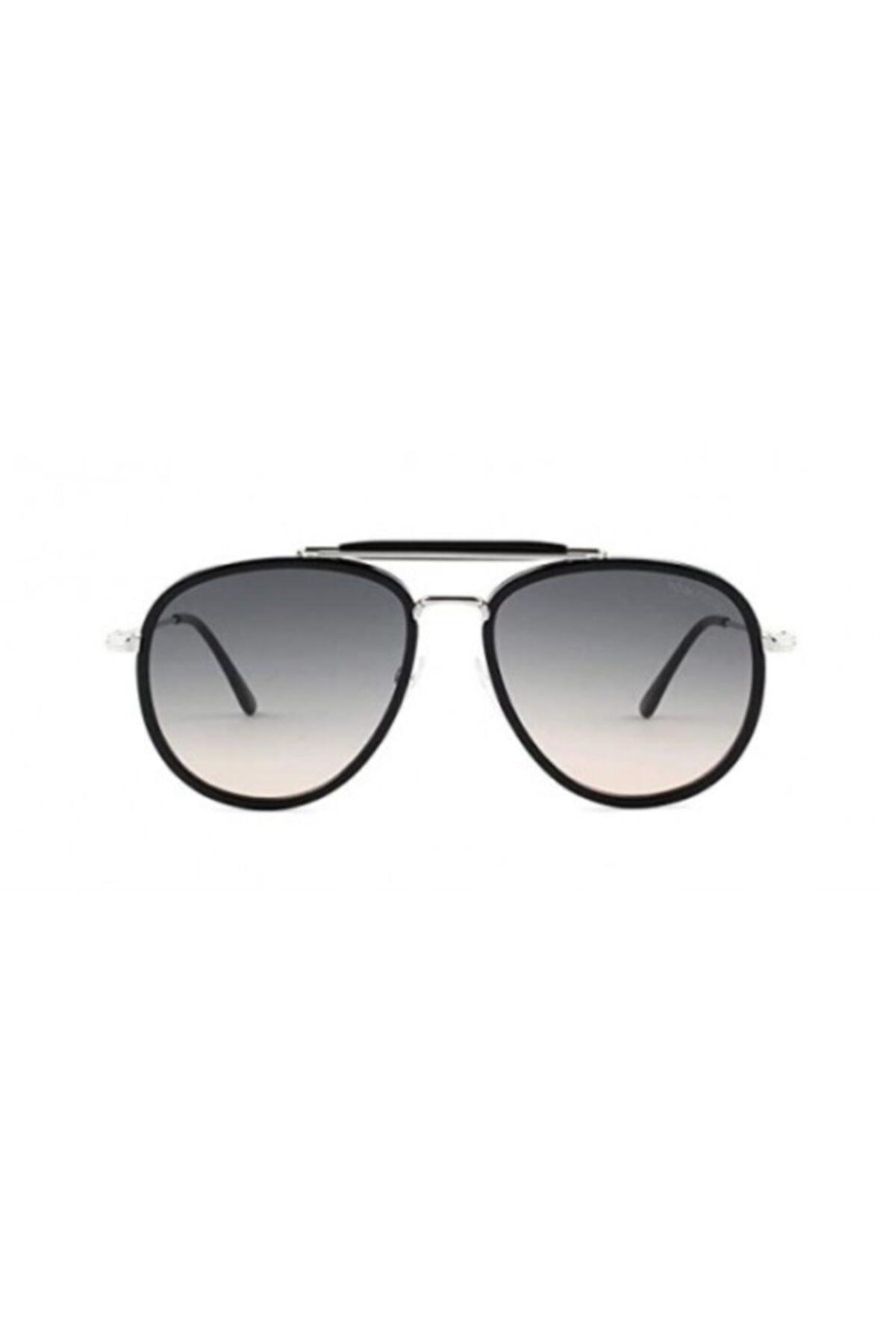 خرید اینترنتی عینک آفتابی خاص برند Tom Ford رنگ متالیک کد ty54736671
