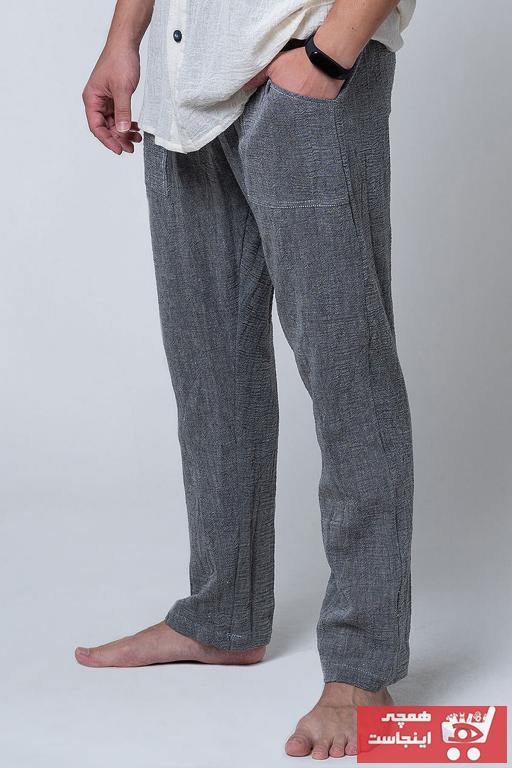 شلوار مردانه جدید برند Dut Project رنگ نقره ای کد ty54840203