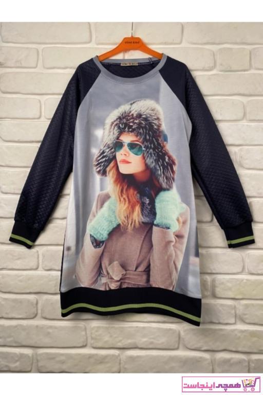تونیک دخترانه ترکیه برند SUME رنگ لاجوردی کد ty55260823