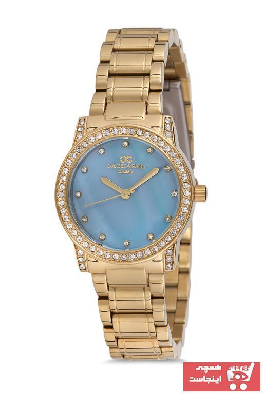 درخواست ساعت مچی زنانه لوکس برند Cacharel رنگ طلایی ty55477831