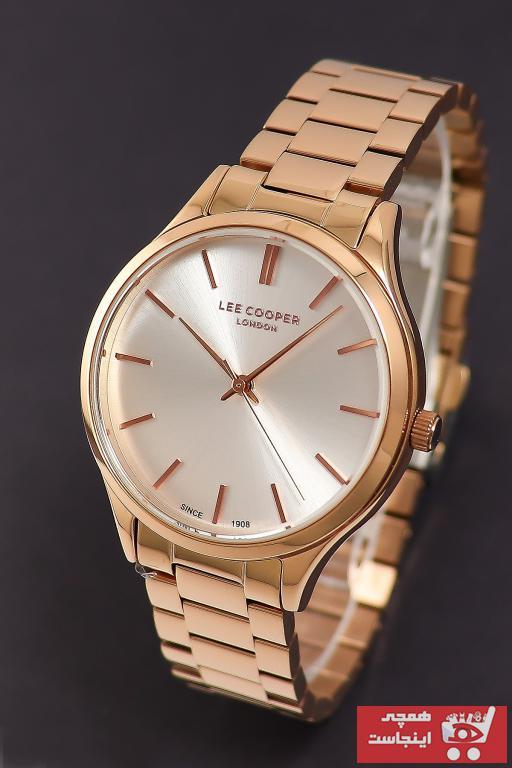 خرید ساعت زنانه جدید برند Lee Cooper رنگ صورتی ty55899024