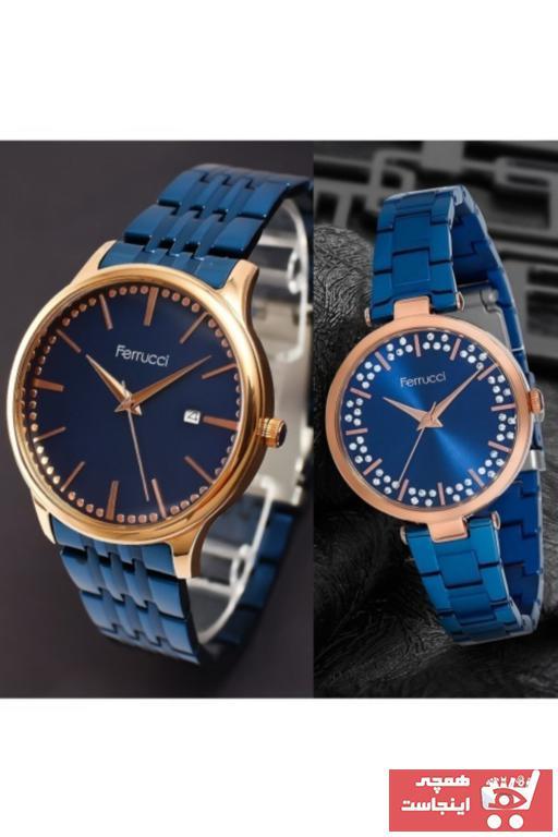خرید ساعت مردانه ارزان برند Ferrucci رنگ لاجوردی کد ty55972012
