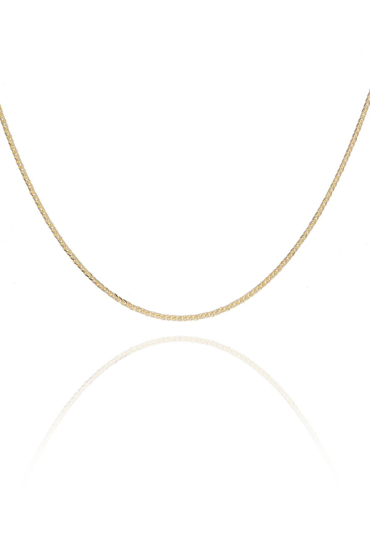 فروش گردنبند طلا زنانه حراجی برند MOOM MÜCEVHERAT رنگ زرد ty56234282