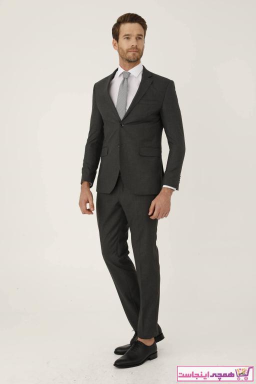 خرید ارزان کت شلوار مردانه اسپرت برند İgs رنگ نقره ای کد ty56518386