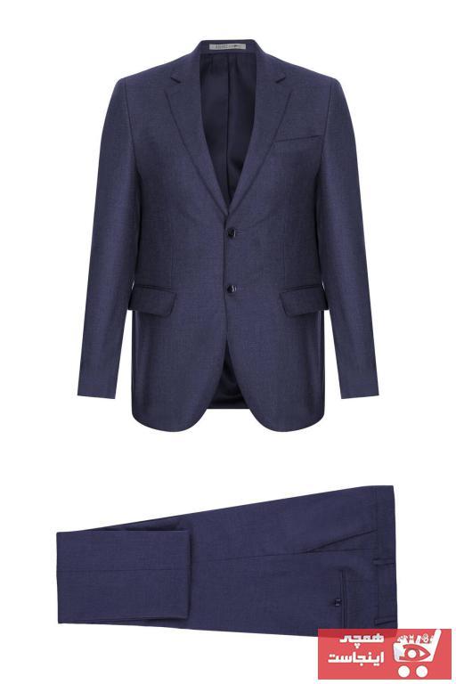فروشگاه کت شلوار مردانه سال ۹۹ برند İgs رنگ لاجوردی کد ty56518905