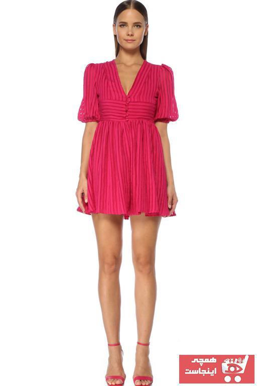 پیراهن زنانه فروشگاه اینترنتی برند Network رنگ صورتی ty57012845