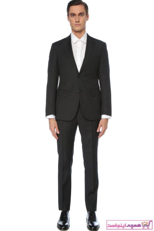 کت شلوار مردانه  ترکیه برند Network رنگ مشکی کد ty57038555