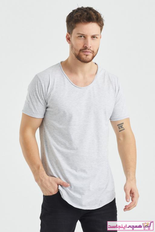 خرید نقدی تی شرت مردانه ترک برند Tarz Cool رنگ نقره ای کد ty57188521