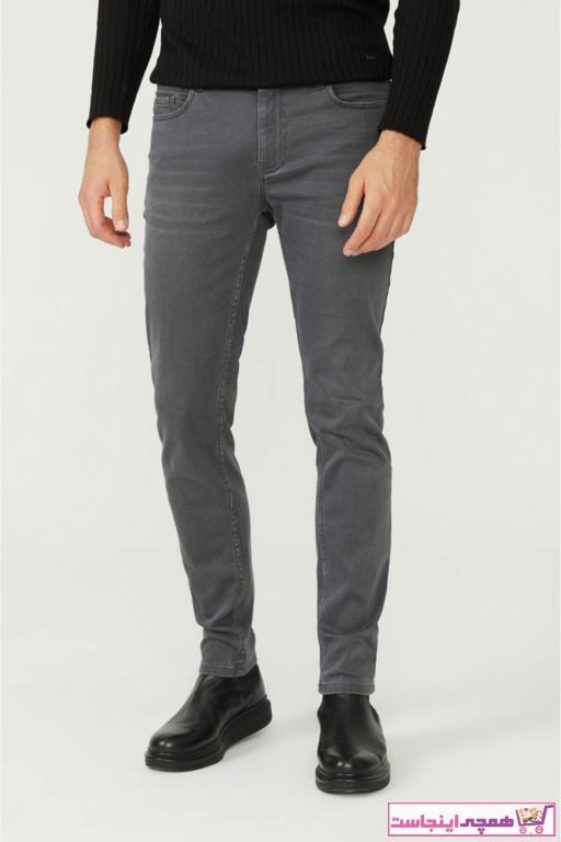 خرید پستی شلوار جین زیبا برند آوا رنگ نقره ای کد ty57409899
