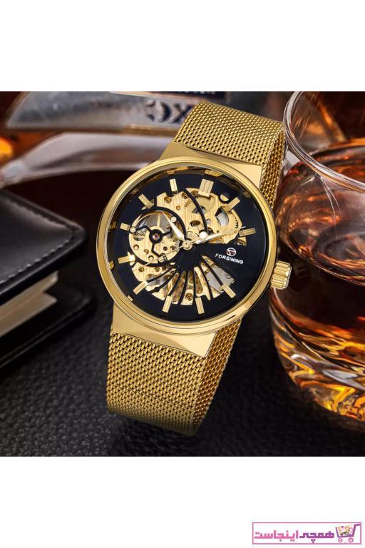 درخواست ساعت مردانه برند Forsining رنگ نقره کد ty5741820