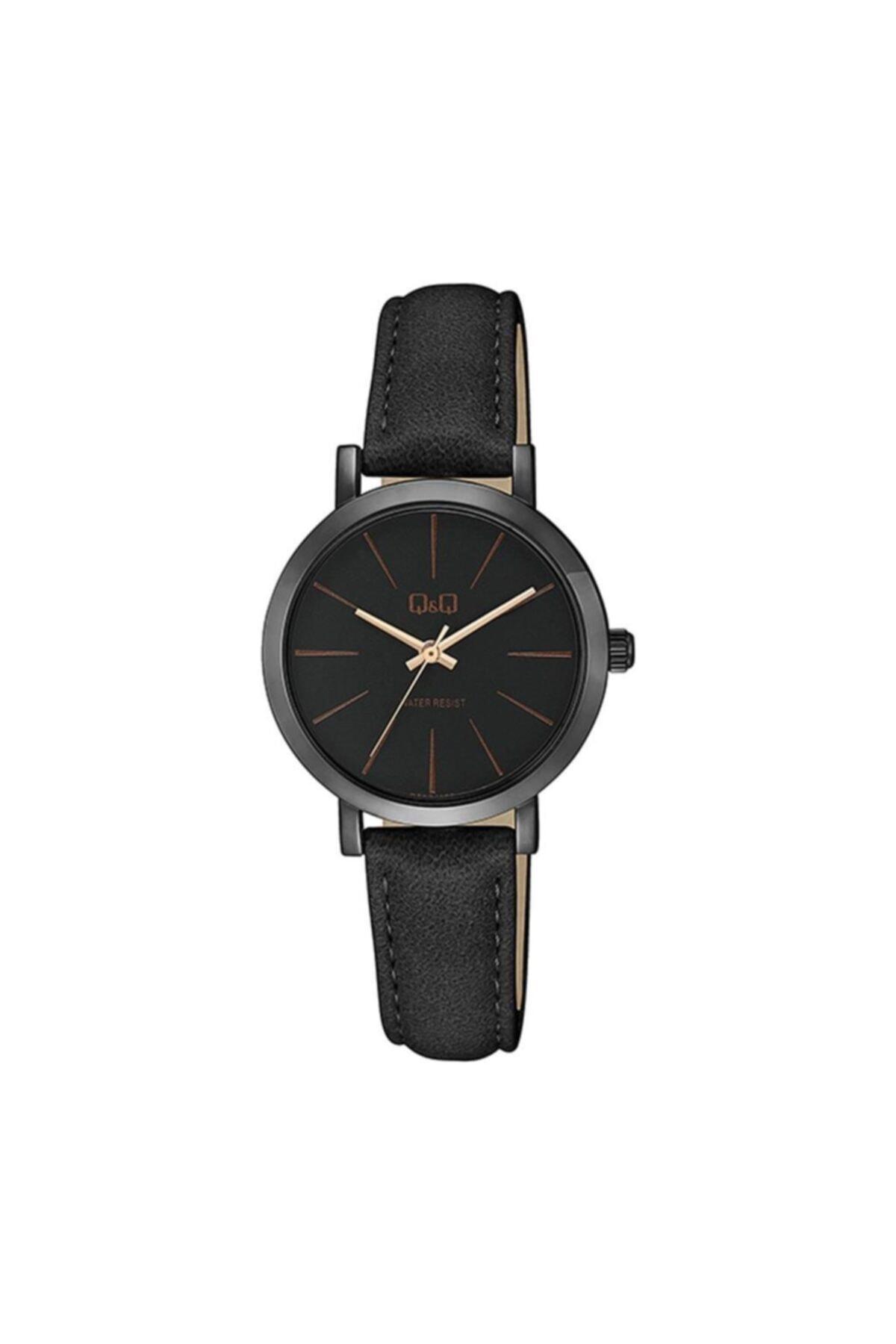 خرید پستی ساعت زنانه  2021 برند Q&Q رنگ مشکی کد ty57610941