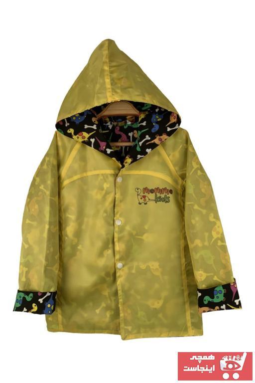 بارانی دخترانه با قیمت برند MoMMoKids رنگ زرد ty57625316