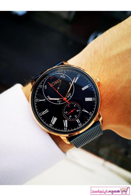 ساعت طرح دار برند Toms رنگ لاجوردی کد ty57707032